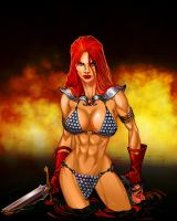 Red Sonja by DONAHUE-t