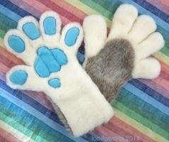 Sabretoothed Tiger Paws by LobitaWorks