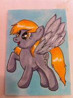 ACEO - Derpy by bittykitty