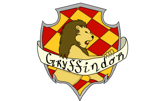 Gryffindor Crest by Accio-Geekology