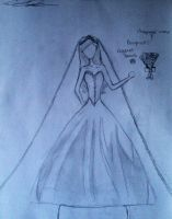 Bridal Ballgown Design (Savi's art) by Milliemewz