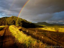 BRNP Sunset Rainbow by scottb