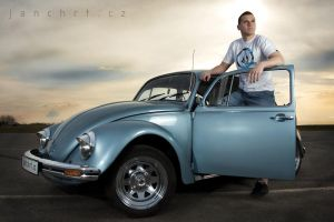vw beatle by jeni-cek