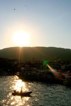 Skiathos Old Port by the--end