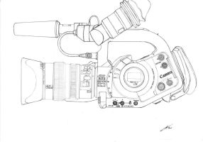 Canon XL1 -Pencil- (2001) by SilvioGiacomini
