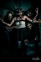Zombies - Raizing Hell band by cromatic-blood