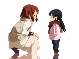 Yui meets a young Azu? by Musician74