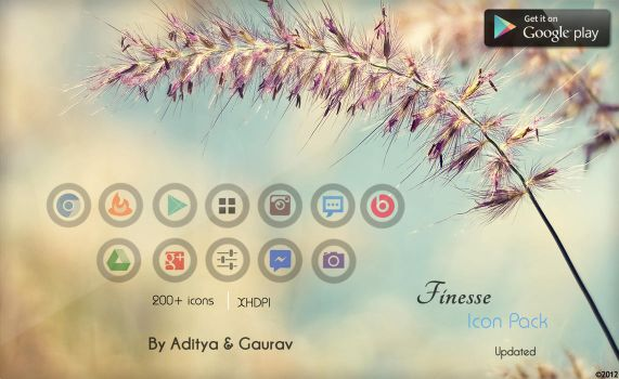 Finesse Icon Pack by Gaurav93