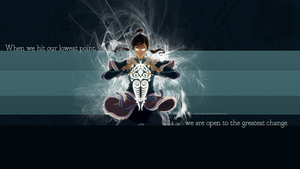 When we hit our lowest point... Korra by Jessica3green
