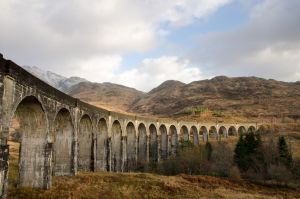 Glenfinnan Viaduct Winter by Rentapest