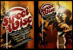 Street Wise Flyer by blackdec