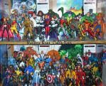 Some of my Marvel Collection by GeekTruth64