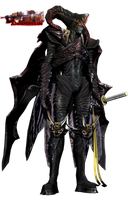 Sparda's Devil Trigger Version 2 Render by AlucardNoLife