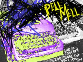 Pell Mell Concert Poster by DragonSpark
