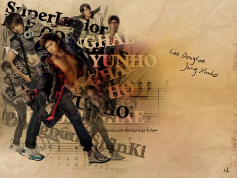 Yunho+Donghae Wallpaper by NewsLover