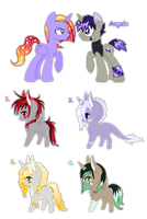Angelo and Orna foals {closed} by Ivon-adopts