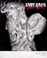 Lady Gaga Bloody Mary by LoveGagaRedAndBlue