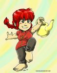 Cosplay Kagura Presents: Ranma Chan! by kaijukid