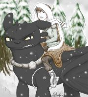 HTTYD: A Winter Threat by Levicorpus