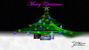 Merry Fractal Christmas by Preach-it