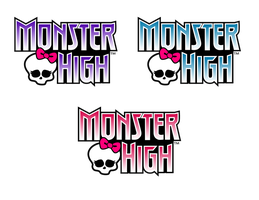 Mock Monster High Logo Vector Practice by Asher-Bee