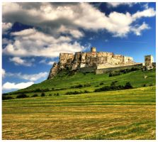 Slovak Wonders : Spis castle by hellmet