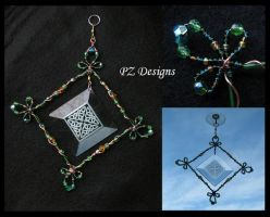 Suncatcher - Celtic Knots by PurlyZig
