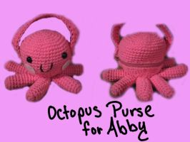Octopus Purse by Saekoi