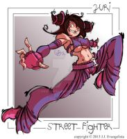 Juri- Street Fighter by HandOfRel