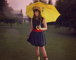 Yellow Umbrella by charsita