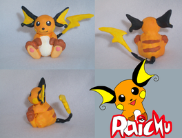 Clay Raichu by VengefulSpirits