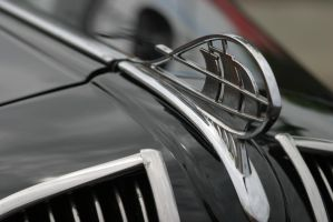 Plymouth Hood Ornament by FrancesColt