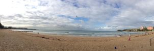 iPhone moment - Manly Beach panorama by BrendanR85