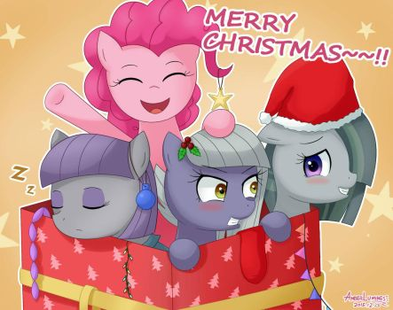 Pies for Christmas by VanillaFox2035