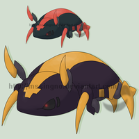 Fakemon Assasspear by mssingno