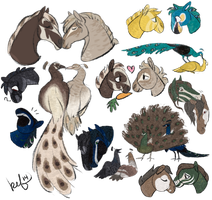 Four Sets of breedings! by daughterofthestars
