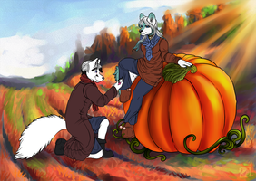 Pumpkin Proposal by celestialsunberry