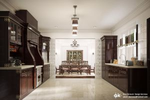 Villa B - Ground floor kitchen by kasrawy