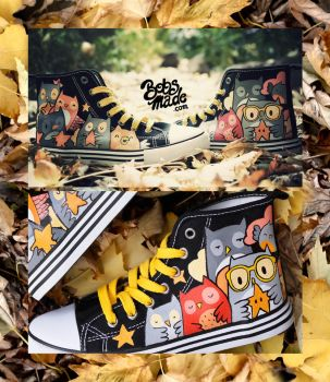 Owl Star Shoes by Bobsmade
