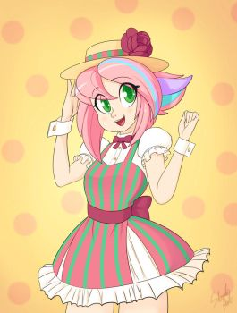 Ciy Candy dress by Skecchiart