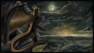 For Dranzer ~ The Dawn of the Dusk (Done w-Bor by AzureParagon