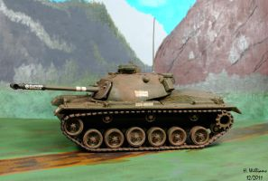 M48A2 Patton other side by 12jack12