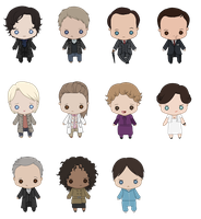 Sherlock Minis by queen-of-rainbows
