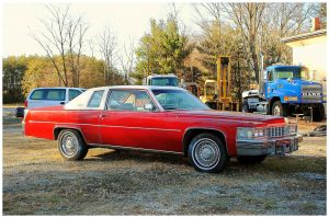 Big Red Cadillac by TheMan268