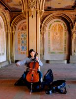 Cellist by Lorddarphyve