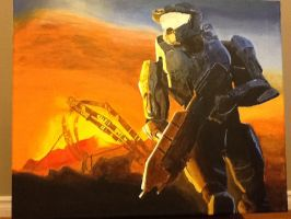 Master Chief: In Progress 6 by SPARTAN-WOLF