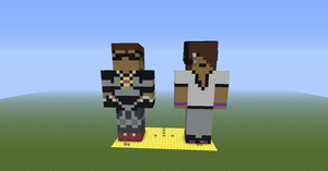Minecraft Commentators: Sky and Deadlox! by SkyeTheMiner