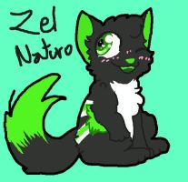 Zel Chibi - Commission by BeeAndMe by Zel-the-Wolf