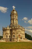 Temple of the Sign of the Virgin (Dubrovitsy) by Nickdan