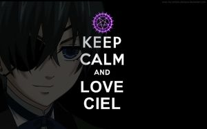 Keep Calm collection [Ciel] by My-Artistic-Deidara